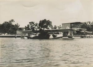 Catalina-on-Water-at-Nedlands-Base-CREDIT-Qantas-Heritage-Collection